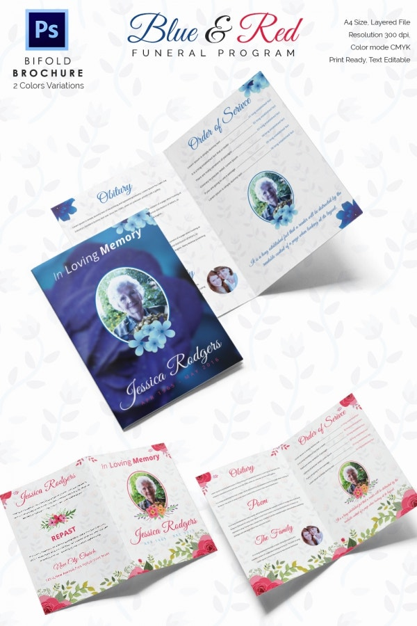 funeral leaflet template free - 30 funeral program brochure templates free word psd