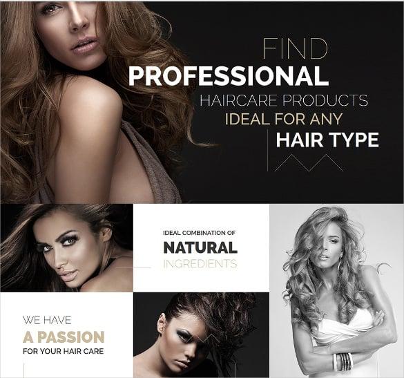 hair care salon prestashop php theme