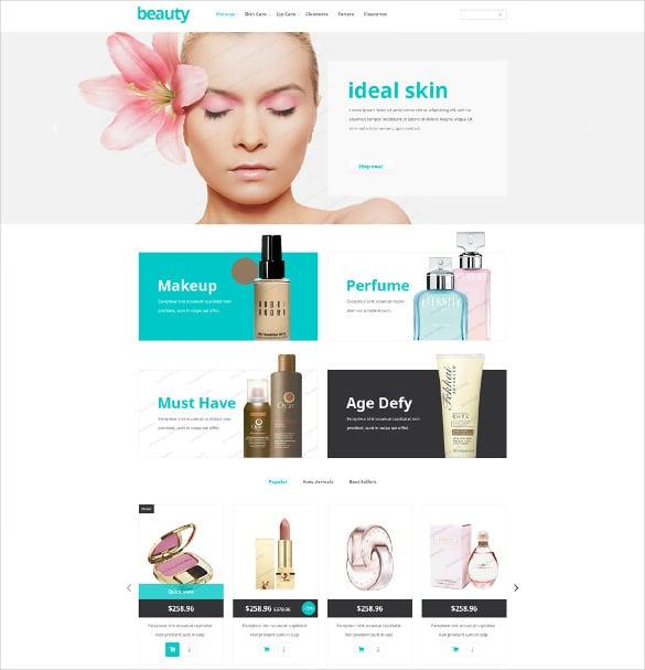beauty store free prestashop php theme