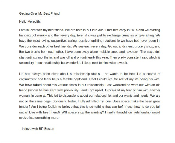 getting over my best friend boston love letter