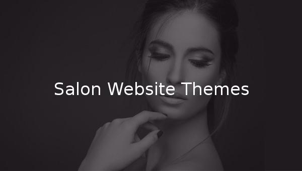 salon website themes