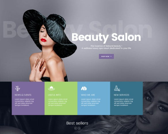 spa salon responsive magento builder theme