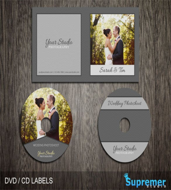 wedding cd label template