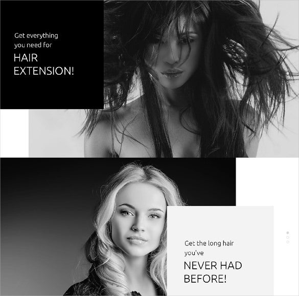 hair beauty salon opencart template