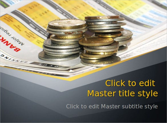 business cash money powerpoint template ppt download