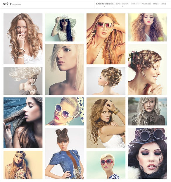 hairstyle salon prestashop theme