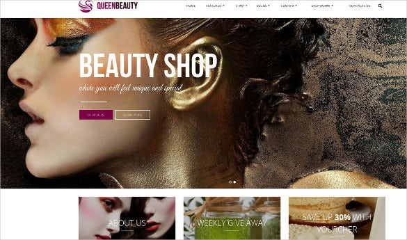 free responsive beauty shop opencart theme