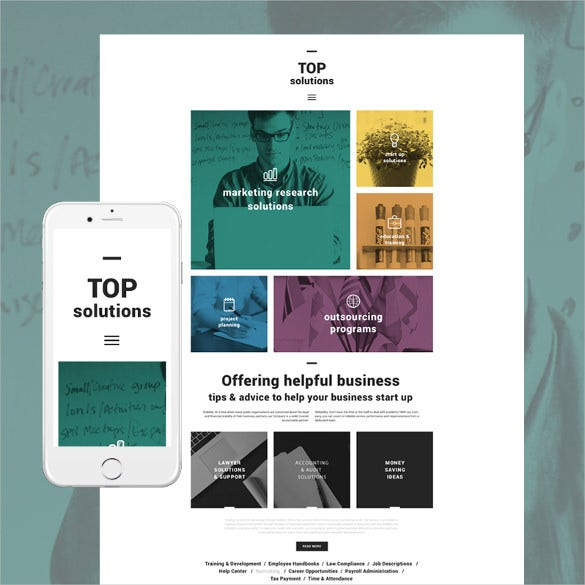 top solutions wordpress blog theme