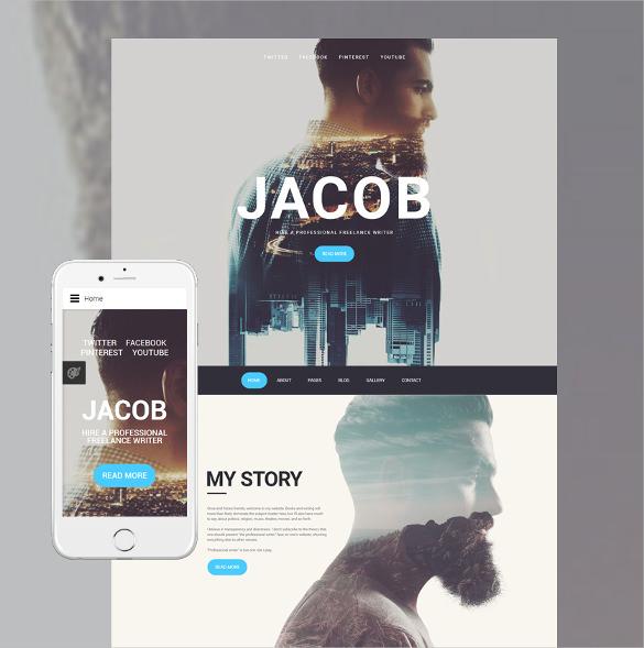 jacob responsive joomla template