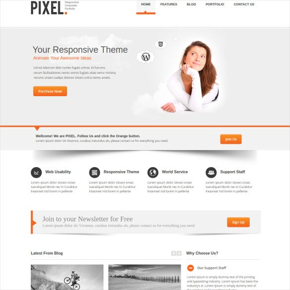 46 responsive bootstrap themes templates free With bootstrap responsive templates free download