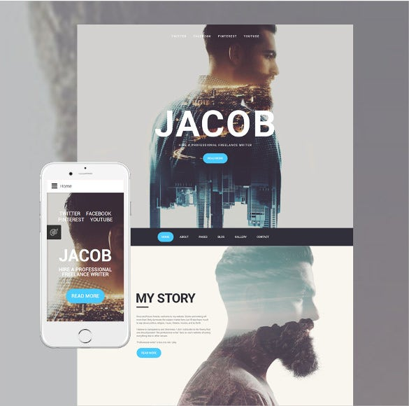 jacob joomla bootstrap template