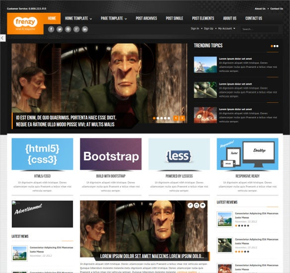 46 responsive bootstrap themes templates free premium templates frenzy responsive bootstrap template maxwellsz