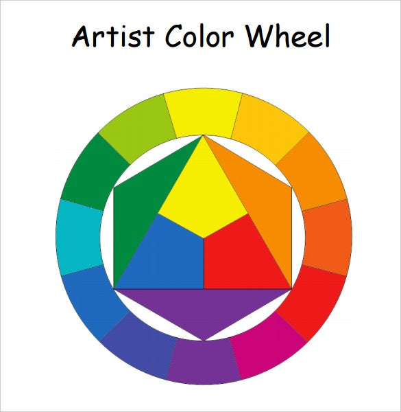 5+ Color Chart Templates - PDF