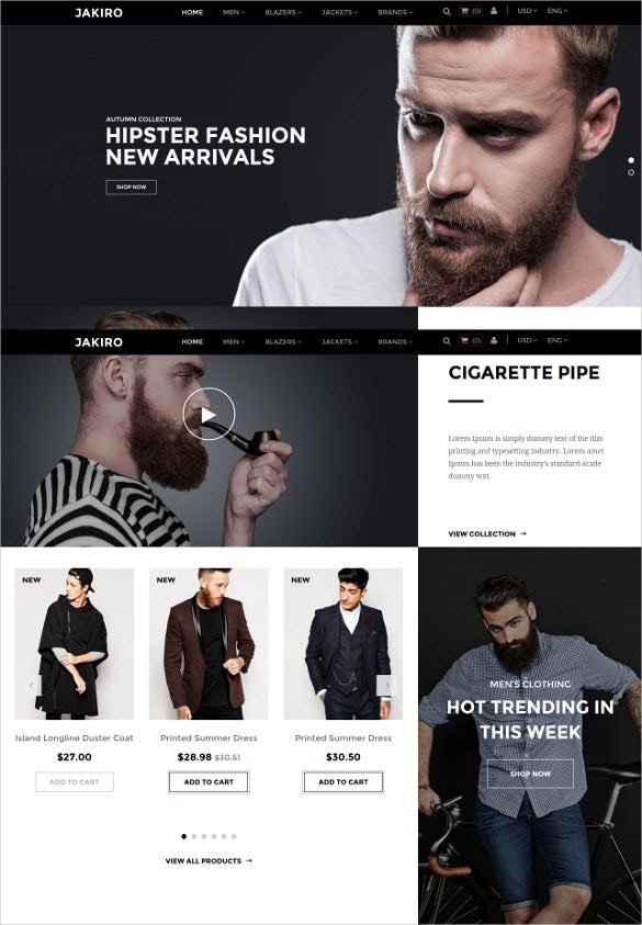 fashion shop prestashop theme