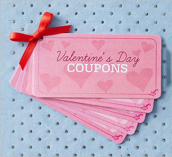 free valentine's day coupon book template download