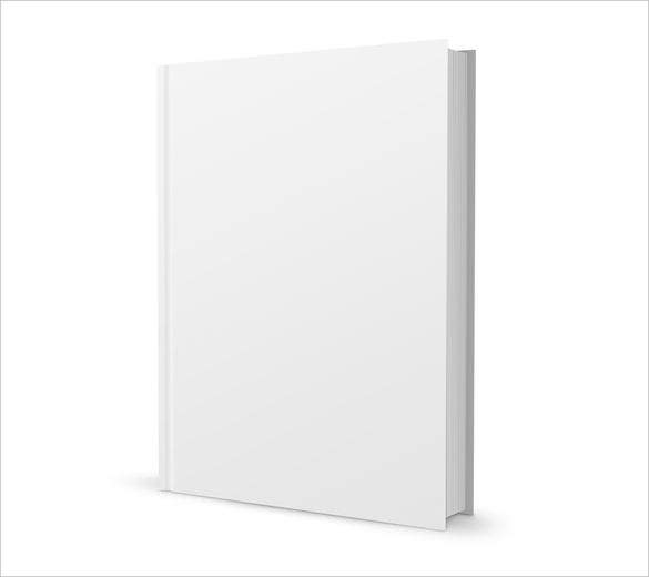 plain blank book template psd format download