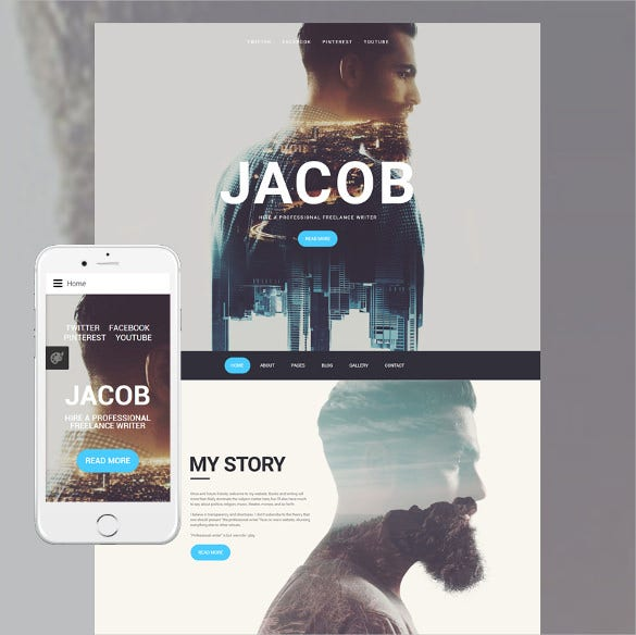 jacob joomla php template