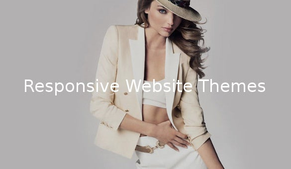 responsive website themes