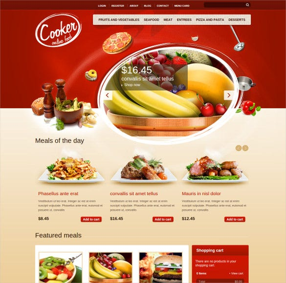 cooker html5 css3 drupal theme