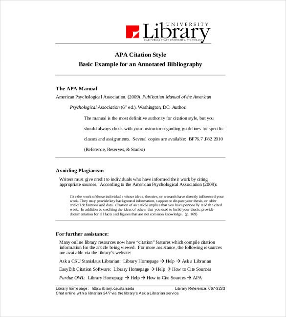 Apa annotated bibliography template microsoft word | Kie ho