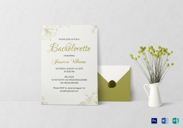 Invitation templates 618 free sample example format download bachelorette party invitation template stopboris Image collections
