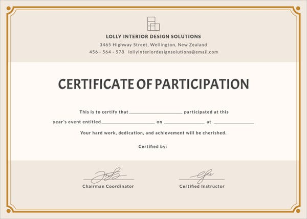 blank-participation-certificate-word-template