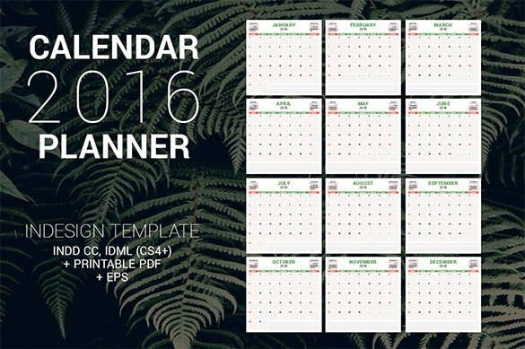 calendar planner 2016 pdf format download1