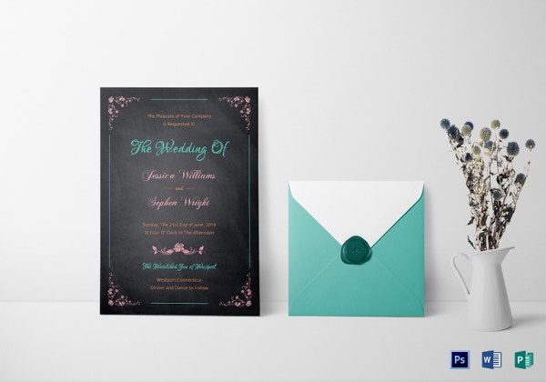 wedding reception invitation templates free download