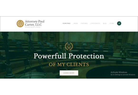 classic legal advisers attorneys wordpress theme