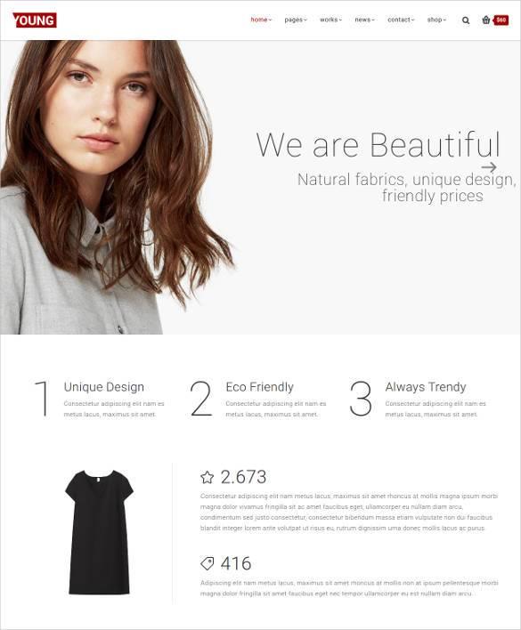 clean portfolio website template1