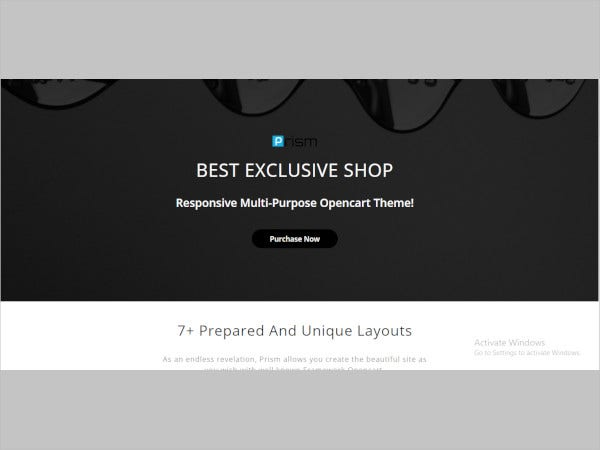 creative multipurpose ecommerce opencart 3 theme