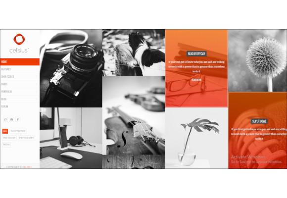 creative photography video portfolio responsive joomla template