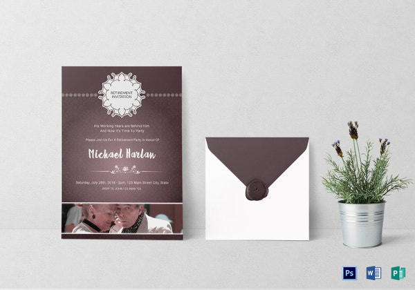 delighted-retirement-party-invitation-card-template