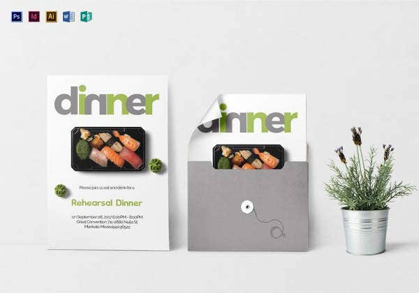 dinner invitation template2
