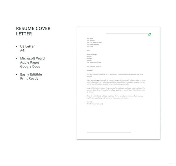driver resume cover letter template2