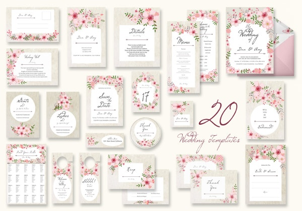 floral-wedding-templates