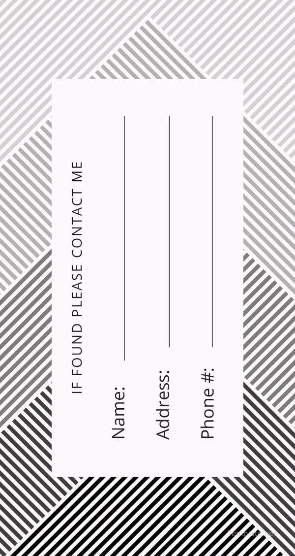 free-luggage-tag-template