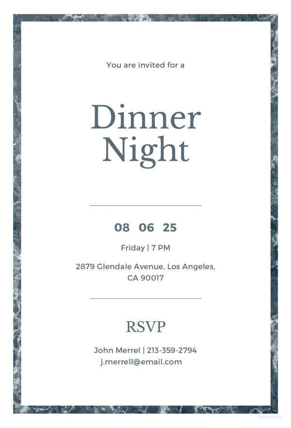 free-sample-dinner-invitation-template