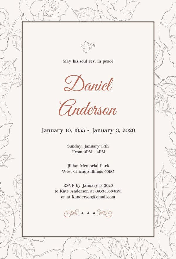 free-simple-funeral-invitation-template