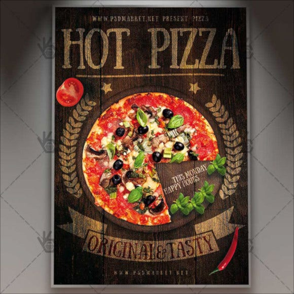 hot-pizza-premium-flyer-template