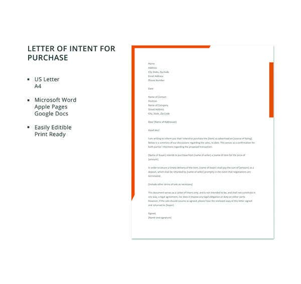 letter template of intent for purchase2