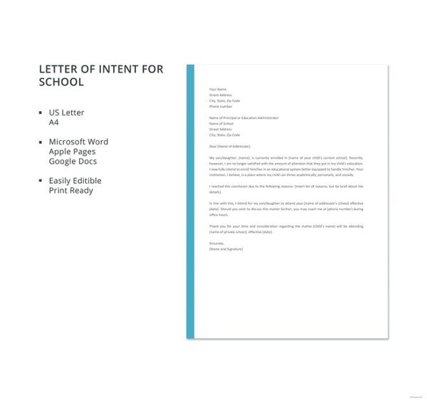letter-template-of-intent-for-school