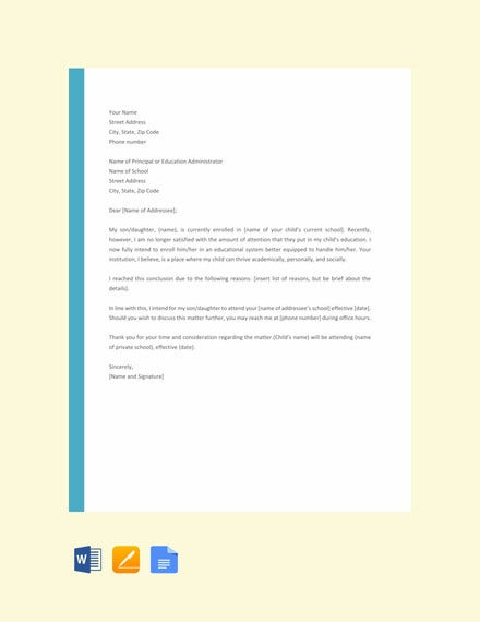 letter template of intent for school3