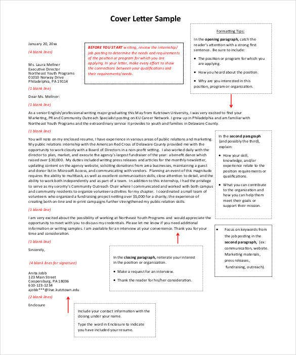 modern cover letter format - How Do You Format A Cover Letter