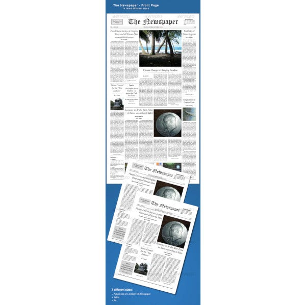 old frontpage newspaper template