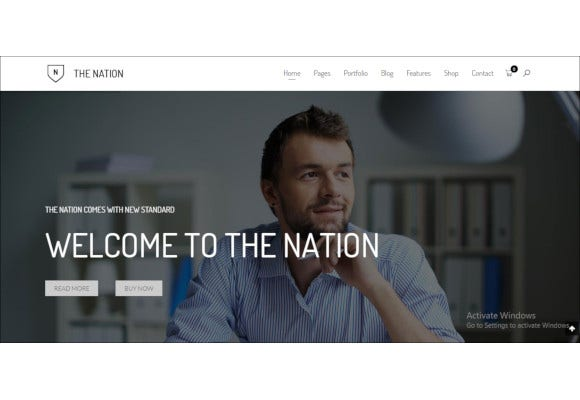 one multi pages drupal theme
