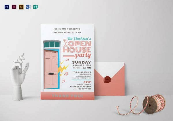 open house invitation template1