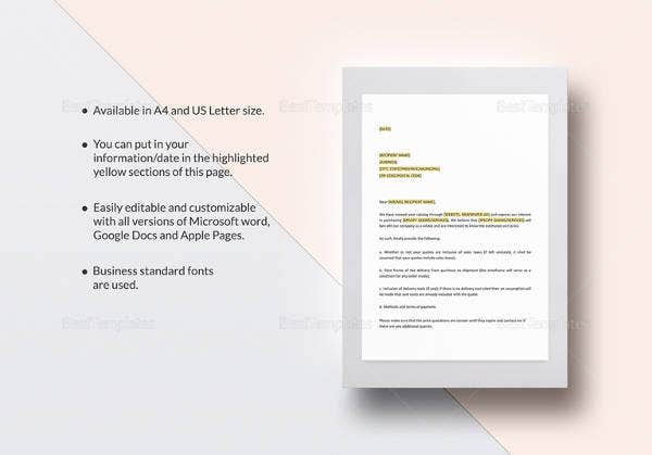Simple Cover Letter Template - 36+ Free Sample, Example, Format ...