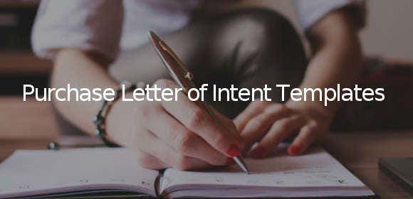 purchase letter of intent template1