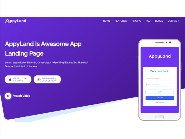 responsive-mobile-app-landing-php-html-theme
